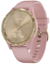 Garmin Vivomove 3S Smart Watch with Silicone Band Pink/Gold 010-02238-01