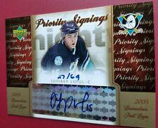 Joffrey Lupul 2005-06 Toronto Fall Expo Priority Signings Auto  27/64