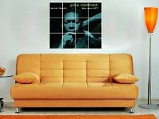 "JOHN COLTRANE 36""X32"" INCH MOSAIC WALL POSTER BLUE TRAIN BLUES FREE JAZZ"
