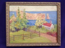 SIGNED FLORENCE BROOK WHITEHOUSE OIL PAINTING MAINE FEMINIST SUFFRAGETTE AUTHOR