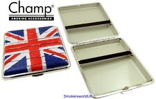 Cigarette Case -- Champ Union Jack Pop Art Flag 20 King Size -- NEW chks16