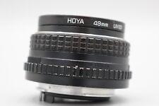 PENTAX SMC Pentax-M 50mm f/2 MF Lens