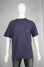 Vintage Tommy Hilfiger t-shirt L expedition 90's made in usa blue pocket tee