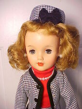 "Vintage 1950s 18"" MISS REVLON DOLL - VT-18 in Tailored Suit with Poodle Dog"