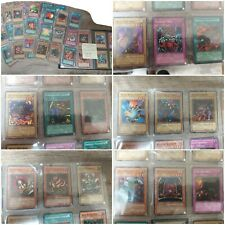 Yugioh Cards Collection/Binder/Lot of 134 Rare Old cards Old school.