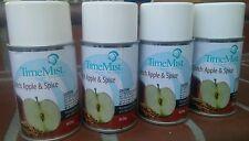 4pkTimeMist Metered Air Freshener Refills - 6.6oz -- Dutch Apple &  Spice Scent