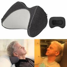 Compact Neck Pillow for Travel Sleep, Car Headrest Pillow with Comfortable and