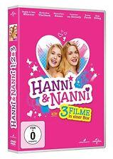 HANNI UND NANNI 1-3 3 DVD (Sophia Münster, Jana Münster, Hannelore Elsner) NEU