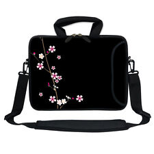 "11.6"" 12.3"" Neoprene Laptop Bag Case w. Side Pocket Shoulder Strap Handle 2901"
