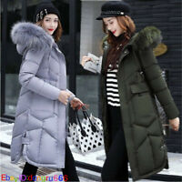 2019 New Winter jacket Women's Slim Hooded Long Padded jacket Cotton Coat Parka