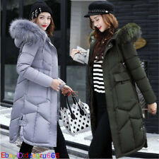 2018 New Winter jacket Women's Slim Hooded Long Padded jacket Cotton Coat Parka