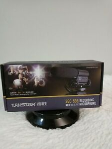 Takstar recording microphone photography interview SGC-598 color black