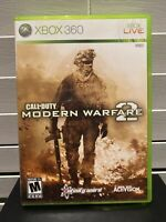 Call of Duty: Modern Warfare 2 (Microsoft Xbox 360, 2009) CIB Complete