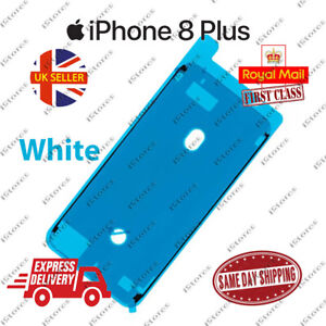 White iPhone 8 Plus LCD Frame Adhesive Waterproof Seal Sticker Replacement