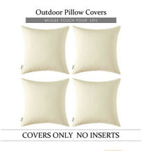 Miulee 4 Decorative Outdoor Waterproof Pillow Cover Square 20 X 20 New Usa