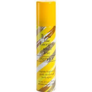Designer Imposters PRIMO by Parfums De Coeur Body Spray 2.5 oz Women's
