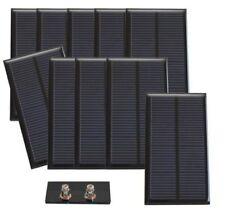 Lot de 10 cellules solaires 2,00 V - 380 mA