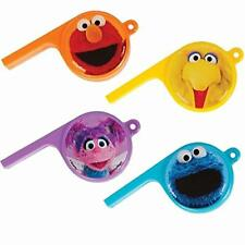 Sesame Street Elmo Cookie Big Bird Cute Kids Birthday Party Favor Whistles