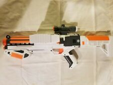 Star Wars Nerf Storm Trooper Gun The Force Awakens White Gray Sight Darts Clip