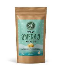 Veganes Omega 3 - Algenöl - 250mg DHA/Kapsel - 90 Kapseln (3-Monatsvorrat)