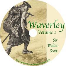 Waverley, Vol. 1 Sir Walter Scott Scotland Rebellion Audiobook on 11 Audio CDs