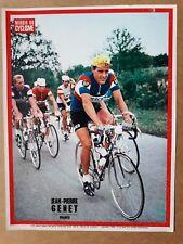 cyclisme tour de France miroir du cyclisme poster vintage années 60 GENET