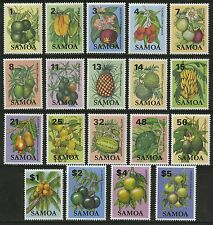 Samoa   1983-84   Scott #600-618   MNH Set