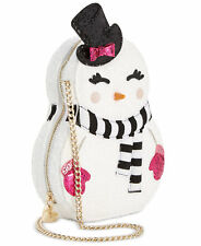 Betsey Johnson KITSCH SNOGAL Crossbody bag BJ74820M Snow Gal Snowman Snow Woman