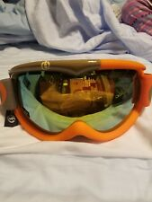 New Electric EG1s Snowboard Ski Goggles missile orange gray/bronze-gold chrome