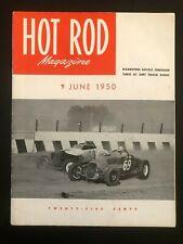 Hot Rod Magazine #30 (June, 1950) - Original Issue, Dirt Track Event