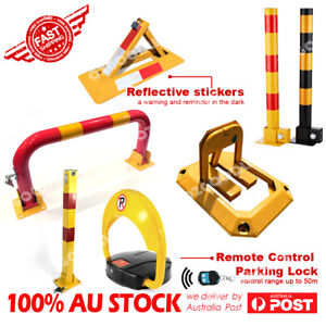 Most complete Fold Down Vehicle Security Car Parking Lock Safety Barrier locker