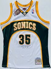 KEVIN DURANT #35 SIGNED SEATTLE SUPERSONICS AUTHENTIC ROOKIE JERSEY PSA/DNA