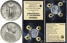 01090] CITTà DEL VATICANO - PAPA PIO XII - 5 LIRE 1951 -  FDC CON PERIZIA