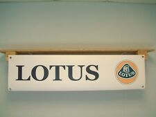 LOTUS Car Banner workshop garage Display Elise Exige Elan Esprit Eclat Elite