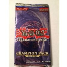 Yu-Gi-Oh! Game Promo Champion Pack 6 Six Booster CP06 Ultra Rare Out Of Print