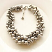 "New 16"" Premier Designs Beads Cluster Collar Necklace Gift Vintage Women Jewelry"