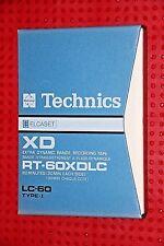 ELCASET    TECHNICS RT-60XDLC   BLANK ELCASET TAPE   (1) (USED)