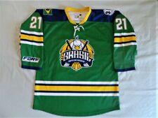 Brasil Brazil Brazilian National Hockey Team Authentic Game Worn Used Jersey XL