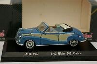 Details Cars 1/43 - BMW 502 Cabriolet Bleue