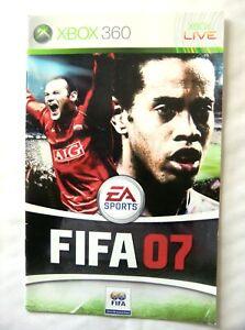 59749 Instruction Booklet - FIFA 07 - Microsoft Xbox 360 (2006)