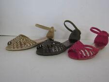 Sandalias con tiras de mujer textiles