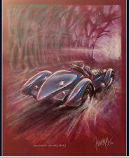 Poster Mythos Le Mans Siegerwagen von 1923 bis 2013 ca 100x 69 cm Rennwagen
