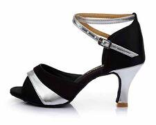 Salsa tango latin dance shoes 3 colors heeled dancing shoes