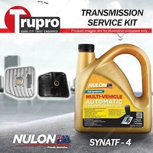 SYNATF Transmission Oil + Filter Kit for Mitsubishi Lancer Ralliart Evo CJ Int