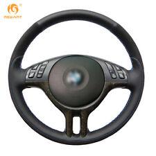 DIY Genuine Leather Steering Wheel Cover for BMW E39 E46 325i E53 X5 #01120