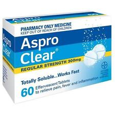 ASPRO Clear 60 300mg Effervescent Tablets