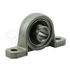 2X Zinc Alloy 12mm Diameter Bore Ball Bearing Pillow Block Mounted Support KP001