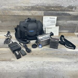 Panasonic PV-DV400D Digital Video Camcorder with Case Manual Charger 2 Batteries