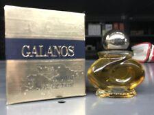 VINTAGE GALANOS By James Galanos Pure PErfume .25 OZ / 7.4 ML