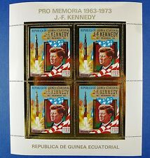 Raumfahrt Space 1973 Equatorial Guinea Kennedy Rakete 306 Kleinbogen MNH/705